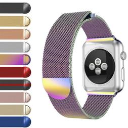 US Magnetic Milanese iWatch Loop Band Strap for Apple Watch