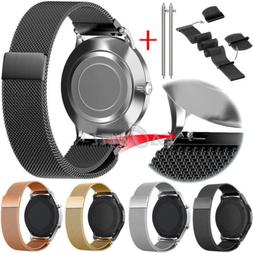 For Samsung Galaxy Watch 3 41/45mm Milanese Mesh Loop Magnet
