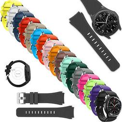 Samsung Galaxy Watch 46mm Band Silicone Strap Replacement Ba
