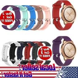 US Silicone Rubber Watch Band Wrist Strap For Samsung Galaxy