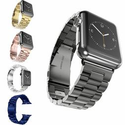 USA Stainless Steel Watch Band For iWatch 5 4 3 2 1 Apple Wa