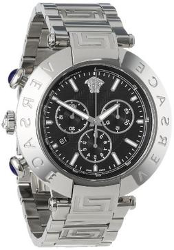 Versace Men's VA8020013 'Reve' Stainless Steel Watch
