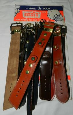 Vintage 'Risto Watch Band Store Display with 12 unused Leath