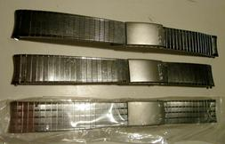 vtg nos stainless watch band 18 mm
