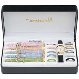 Navarre Ladies Watch with Interchangeable Bands and Faces