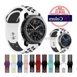 Watch Band For Samsung Gear S3 Classic Frontier  22mm Silico