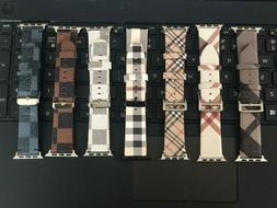 Apple Watch Band Leather for apple watch series 5 4 3 2 1 38
