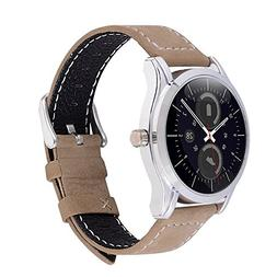 20mm Watch Band Short, Fullmosa Mosa Genuine Leather Replace