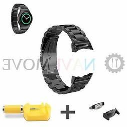 Watch Band Steel Stainless Wrist Strap For Samsung Gear S2 S