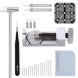 Watch Band Strap Link Pins Remover Repair Tool,24 in 1 Kit w