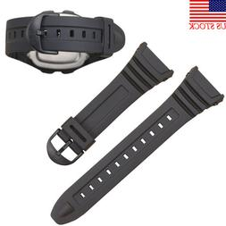 Watch Band Strap to fit For Casio Model W-96H W96,Flexible B