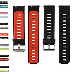 22mm Universal Sports Soft Silicone Breathable Watch Bands R