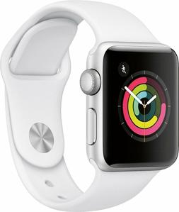 Apple Watch Series 3 42mm Silver Aluminium Case with White S