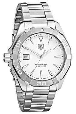 TAG Heuer Men's WAY1111.BA0910 Silver-Tone Stainless Steel W