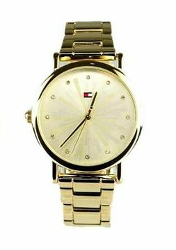 Tommy Hilfiger Women's Watch Gold Tone Stainless Steel 17819