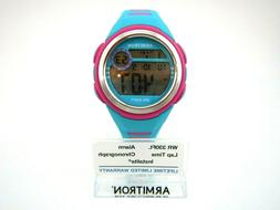 Armitron Womens Sports Watch WR 330ft  Alarm Lap Time Instal