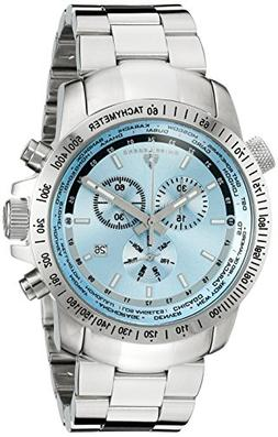 Swiss Legend 10013-102 Men's World Timer Chronograph Light B