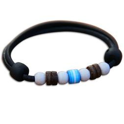 Wrist Jewellery Ladies Leather Bracelet Surf Jewelery Men's