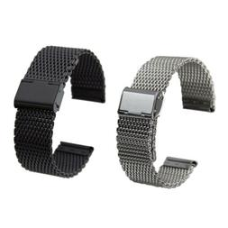 Wrist Watch Band for Skagen Stainless Steel Mesh Band with D