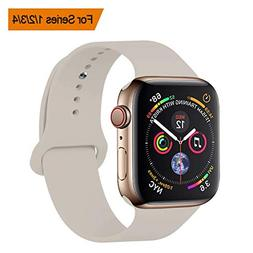 YANCH Compatible with for Apple Watch Band 38mm 40mm, Soft S